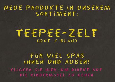 Teepee Zelt (rot) - Hape